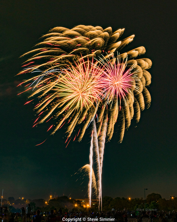 In Eagan, MN the fireworks are always good.