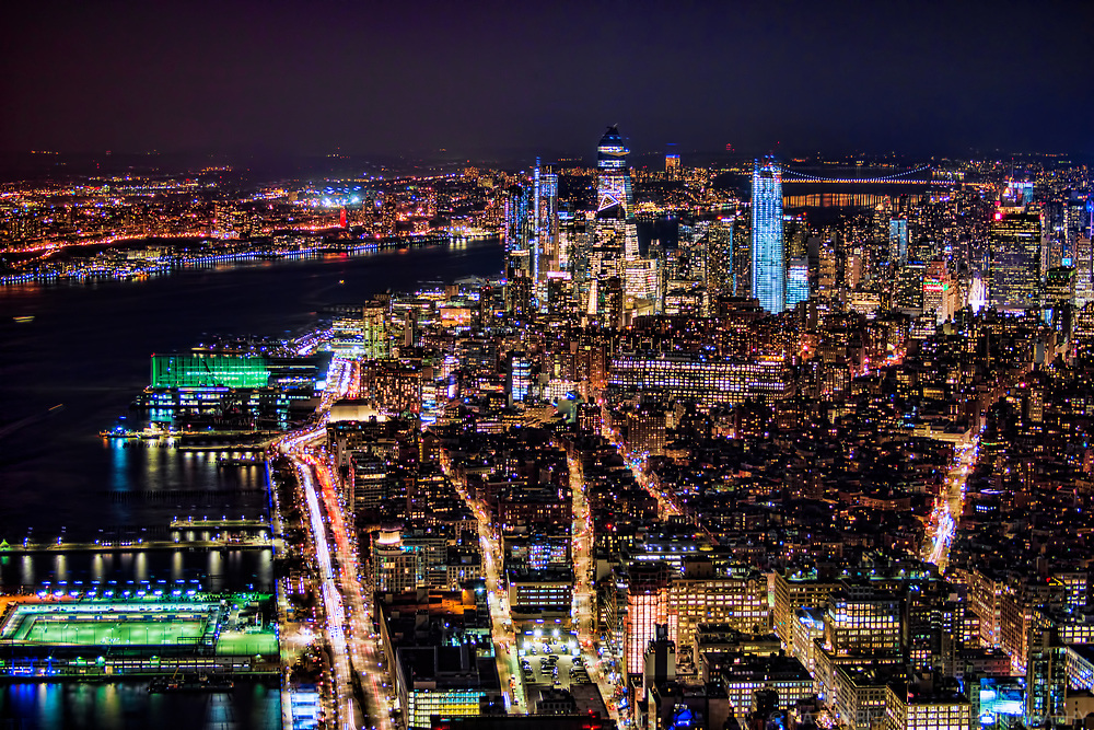 Hudson River, Chelsea Neighborhood & Hudson Yards Complex