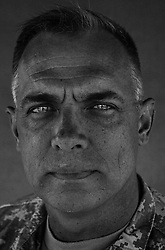 Colonel J.B. Burton, 45. Tullaham, TN. Commander - 2nd Brigade 1st Infantry Division. Taken at Camp Liberty, Baghdad on Friday May 25, 2007.