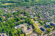Nederland, Gelderland,  gemeente Renkum, 29-05-2019; overzichtsfoto Oosterbeek, Gemeentehuis Renkum.  Tijdens WO II toneel van de veldslag van de geallieerde troepen, Slag van Arnhem, onderdeel Operatie Market Garden.<br /> Overview Oosterbeek. During World War II scene of the battle of the Allied troops, Battle of Arnhem, Operation Market Garden.<br /> <br /> luchtfoto (toeslag op standard tarieven);<br /> aerial photo (additional fee required);<br /> copyright foto/photo Siebe Swart
