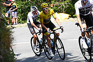 Geraint Thomas (GBR - Team Sky) during the 105th Tour de France 2018, Stage 14, Saint-Paul-trois-Chateaux - Mende (188 km) on July 21th, 2018 - Photo Luca Bettini / BettiniPhoto / ProSportsImages / DPPI