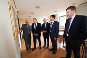 11/07/2017  REPRO FREE:   Mr George McCourt  Head of innovation GMIT Minister of State Pat Breen, Department of Enterprise and Innovation, Barry Egan Enterprise Ireland, Dr Rick officer VP for research GMIT  Dr. Eugene McCarthy MET Technology Manager GMIT, on a visit to the iHub and GMIT . Photo:Andrew Downes, xposure .