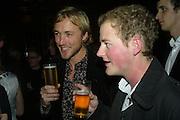 Sam Pelly and Guy Pelly, Tatler's Little Black Book party. Tramp. Jermyn St.  London. 7 November 2007. -DO NOT ARCHIVE-© Copyright Photograph by Dafydd Jones. 248 Clapham Rd. London SW9 0PZ. Tel 0207 820 0771. www.dafjones.com.