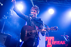 Gerry Cinnamon on the T-Break stage. Sunday, 12th July 2015, day three at T in the Park 2015, at its new home at Strathallan Castle.