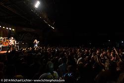 Jackyl plays a free concert at Destination Daytona during Biketoberfest, Ormond Beach, FL, October 18, 2014, photographed by Michael Lichter. ©2014 Michael Lichter
