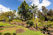 Japanese Garden, Kukuiolono Park and Golf Course, Kalaheo, Kauai, Hawaii