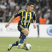 Fenerbahce's Ozer Hurmaci during their Turkish Superleague SuperFinal Derby match Besiktas between Fenerbahce at the Inonu Stadium at Dolmabahce in Istanbul Turkey on Thursday, 03 May 2012. Photo by TURKPIX