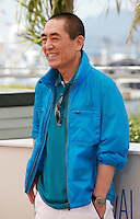 Director Zhang Yimou at the photo call for the film Coming Home at the 67th Cannes Film Festival, Tuesday 20th May 2014, Cannes, France.