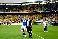 27-04-2008 VOETBAL: KNVB BEKERFINALE FEYENOORD - RODA JC: ROTTERDAM <br /> Feyenoord wint de KNVB beker - Henk Timmer en Patrick Lodewijks<br /> ©2008-WWW.FOTOHOOGENDOORN.NL