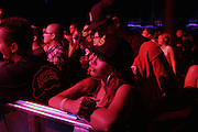 September 22, 2012- Los Angeles, CA:  Audience attends the Lyricist Lounge 20th Year Reunion Party-Los Angeles held at Club Nokia at LA Live on September 22, 2012 in Los Angeles, California. The Lyricist Lounge is a hip hop showcase of rappers, emcees, DJ's, and Graffiti artists. It was founded in 1991 by hip hop aficionados Danny Castro and Anthony Marshall. It was a series of open mic events hosted in a small studio apartment in the Lower East Side section of New York City.(Terrence Jennings)