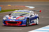 Dan Kirby(GBR) Rob Boston Racing during the Millers Oil Ginetta GT4 Supercup Championship at Knockhill Racing Circuit, Dunfermline, Scotland on 15 September 2019.