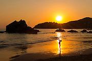 Sunset, Playa La Ropa, Zihuatanejo, Guerrero, Mexico