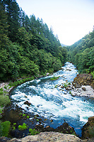 North Santiam River, Oregon.