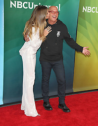 NBCUniversal Summer Press Day at Universal Studios in Hollywood, California on 5/2/18. 02 May 2018 Pictured: Heidi Klum, Howie Mandel. Photo credit: River / MEGA TheMegaAgency.com +1 888 505 6342