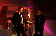 Roxy Music, Bryan Ferry, Andy Mckay, (tweed) Phil Manzanera (purple The Q Awards 2004, Grosvenor House, London. 4 October 2004. ONE TIME USE ONLY - DO NOT ARCHIVE  © Copyright Photograph by Dafydd Jones 66 Stockwell Park Rd. London SW9 0DA Tel 020 7733 0108 www.dafjones.com