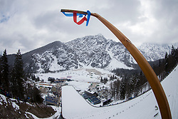 Planica during testing jumps at Ski jumping Flying Hill One day before FIS World Cup Ski Jumping Final Planica 2018, on March 21, 2018 in Ratece, Planica, Slovenia. Photo by Urban Urbanc / SportidaPlanica hill during testing jumps at Ski jumping Flying Hill One day before FIS World Cup Ski Jumping Final Planica 2018, on March 21, 2018 in Ratece, Planica, Slovenia. Photo by Urban Urbanc / Sportida