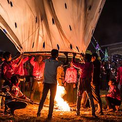Loikaw (Kayah State) during Tazaungdaing Balloon Festival