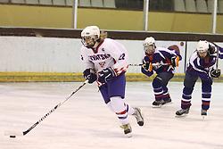 01.04.2013 Puigcerda, Spain. IIHF Ice Hockey Women's World Championship Div II Group B. Picture show Anja KAdejevic in action during Game between korea against Croatia