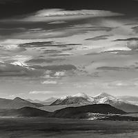 Elgol, Isle of Skye, from the Isle of Rum