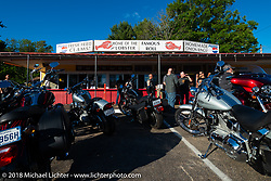 The Tamarack Drive-In window serve restaurant during Laconia Motorcycle Week. NH, USA. Friday, June 15, 2018. Photography ©2018 Michael Lichter.