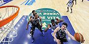 DESCRIZIONE : Campionato 2014/15 Dinamo Banco di Sardegna Sassari - Dolomiti Energia Aquila Trento Playoff Quarti di Finale Gara4<br /> GIOCATORE : Marco Spanghero<br /> CATEGORIA : Tiro Penetrazione Sottomano Special<br /> SQUADRA : Dolomiti Energia Aquila Trento<br /> EVENTO : LegaBasket Serie A Beko 2014/2015 Playoff Quarti di Finale Gara4<br /> GARA : Dinamo Banco di Sardegna Sassari - Dolomiti Energia Aquila Trento Gara4<br /> DATA : 24/05/2015<br /> SPORT : Pallacanestro <br /> AUTORE : Agenzia Ciamillo-Castoria/L.Canu
