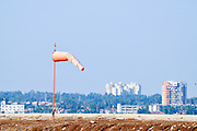 Israel, Ben-Gurion international Airport Air balloon shows pilots the direction and speed of the wind