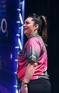 Corrine Hammond during the BDO World Professional Championships at the O2 Arena, London, United Kingdom on 9 January 2020.