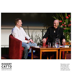 Poet Christian Bok talks about his work during the New Zealand International Arts Festival 2008 in Wellington.