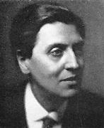 Alban Berg (1885-1935) Austrian composer, a pupil of Schoenberg.
