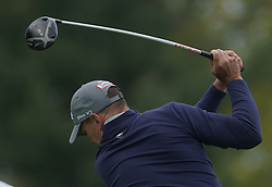 May 24, 2019 - Benton Harbor, NY, U.S. - ROCHESTER, NY - MAY 24: Dave McNabb hits his tee shot on the 15th hole during the second round of the KitchenAid Senior PGA Championship at Oak Hill Country Club on May 24, 2019 in Rochester, New York. (Photo by Jerome Davis/Icon Sportswire) (Credit Image: © Jerome Davis/Icon SMI via ZUMA Press)