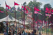 The traditional helta skelter - The 2018 Latitude Festival, Henham Park. Suffolk 13 July 2018