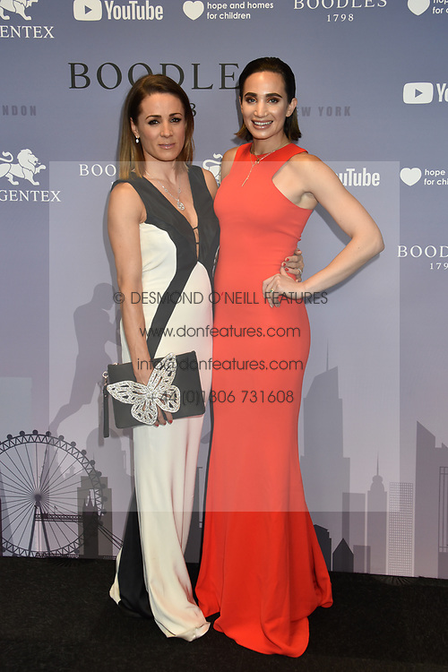 Natalie Pinkham and Laura Wright at the Boodles Boxing Ball, in association with Argentex and YouTube in Support of Hope and Homes for Children at Old Billingsgate London, United Kingdom - 7 Jun 2019 Photo Dominic O'Neil