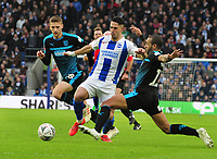 Football - 2018 / 2019 Emirates FA Cup - Fourth Round: Brighton & Hove Albion vs. West Bromwich Albion<br /> <br /> Beram Kayal of Brighton is challenged by Tyrone Mears, at The Amex.<br /> <br /> COLORSPORT/ANDREW COWIE