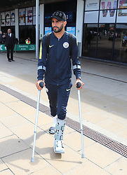 Riyad Mahrez and The Manchester City Team return to Manchester on Sunday afternoon after their pre season tour of the USA.