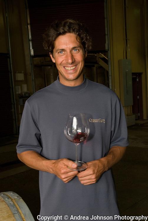 Grant Stanley, Winemaker, Quail's Gate, Okanagan, British Columbia, Canada