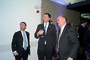 JEREMY MAYHEW; JEREMY HUNT; NICK KENYON, LA Philharmonic reception, Fountain room, Barbican. 27 January 2011 -DO NOT ARCHIVE-© Copyright Photograph by Dafydd Jones. 248 Clapham Rd. London SW9 0PZ. Tel 0207 820 0771. www.dafjones.com.