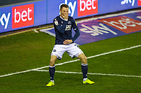 Football - 2020 / 2021 Sky Bet (EFL) Championship - Millwall vs Birmingham City  - The Den<br /> <br /> Millwall goalscorer Jed Wallace (Millwall FC) celebrates with a dance move after giving his team an early lead <br /> <br /> COLORSPORT/DANIEL BEARHAM