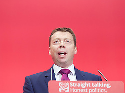 Labour Party Annual Conference, Brighton Centre, Brighton, East Sussex , Great Britain <br /> 27th September 2015 <br /> <br /> Iain McNicol <br /> <br /> <br /> Photograph by Elliott Franks <br /> Image licensed to Elliott Franks Photography Services