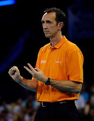 09-07-2010 VOLLEYBAL: WLV NEDERLAND - ZUID KOREA: EINDHOVEN<br /> Nederland verslaat Zuid Korea met 3-1 / Coach Peter Blange<br /> ©2010-WWW.FOTOHOOGENDOORN.NL