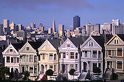 Steiner Street, San Francisco, California, USA, (editorial use only, no property release)<br />