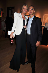 The MARQUESS & MARCHIONESS OF BUTE at fundraising dinner and auction in aid of Liver Good Life a charity for people with Hepatitis held at Christies, King Street, London on 16th September 2009.