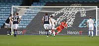 Millwall's Jed Wallace scores his side's first goal from the penalty spot<br /> <br /> Photographer Rob Newell/CameraSport<br /> <br /> The EFL Sky Bet Championship - Millwall v Leeds United - Saturday 5th October 2019 - The Den - London<br /> <br /> World Copyright © 2019 CameraSport. All rights reserved. 43 Linden Ave. Countesthorpe. Leicester. England. LE8 5PG - Tel: +44 (0) 116 277 4147 - admin@camerasport.com - www.camerasport.com