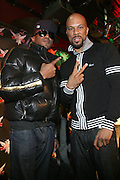 Q-Tip and Common at The Smirnoff Press Conference announcing Music Series held at Element on February 26, 2008