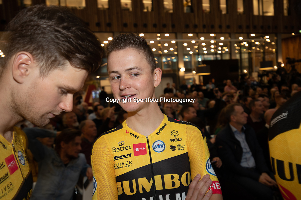 10-12-2019: Wielrennen: Teampresentatie Jumbo Visma: Amsterdam <br />Antwan TOlhoek