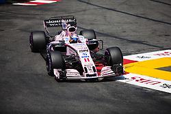 May 27, 2017 - Monte-Carlo, Monaco - 11 PEREZ Sergio from Mexico of Force India VJM10 during the Monaco Grand Prix of the FIA Formula 1 championship, at Monaco on 27th of 2017. (Credit Image: © Xavier Bonilla/NurPhoto via ZUMA Press)