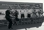 Brandenburg. GERMANY. GBR LM2-. Bow Joel CASSELLS and Sam SCRIMGEOUR, Gold Medalist.<br /> 2016 European Rowing Championships at the Regattastrecke Beetzsee<br /> <br /> Sunday  08/05/2016<br /> <br /> [Mandatory Credit; Peter SPURRIER/Intersport-images]. Bow Joel CASSELLS and Sam SCRIMGEOUR, Gold Medalist.<br /> 2016 European Rowing Championships at the Regattastrecke Beetzsee<br /> <br /> Sunday  08/05/2016<br /> <br /> [Mandatory Credit; Peter SPURRIER/Intersport-images]