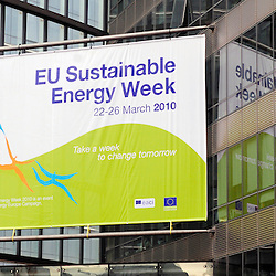 Belgium  - Brussels - 23 March 2010 - EU Sustainable Energy Week 2010 - General View and Logo . © EC/CE