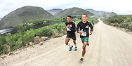 Team 1's John April (left) and Francois Maquassa on their way to victory on Stage 2 of the Fairview Dryland Traverse, on the 5th of November 2016.<br /> <br /> <br /> Photo by: Oakpics/Fairview Dryland Traverse/SPORTZPICS<br /> <br /> <br /> {dem16gst}