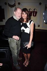 HELENA CHRISTENSEN and NIC ROEG at a screening of the short film 'Away We Stay' directed by Edoardo Ponti held at The Electric Cinema, Portobello Road, London W1 on 15th November 2010.
