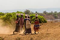 Nyangatom tribe, Omo Valley, Ethiopia.